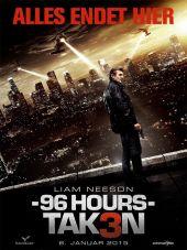 96 Hours - Taken 3 - Poster 1