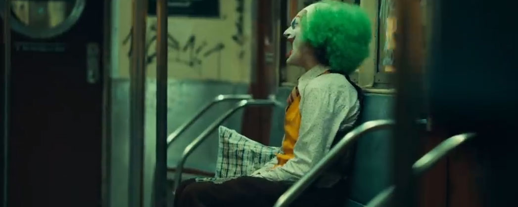 Joaquin Phoenix als Clown in Joker