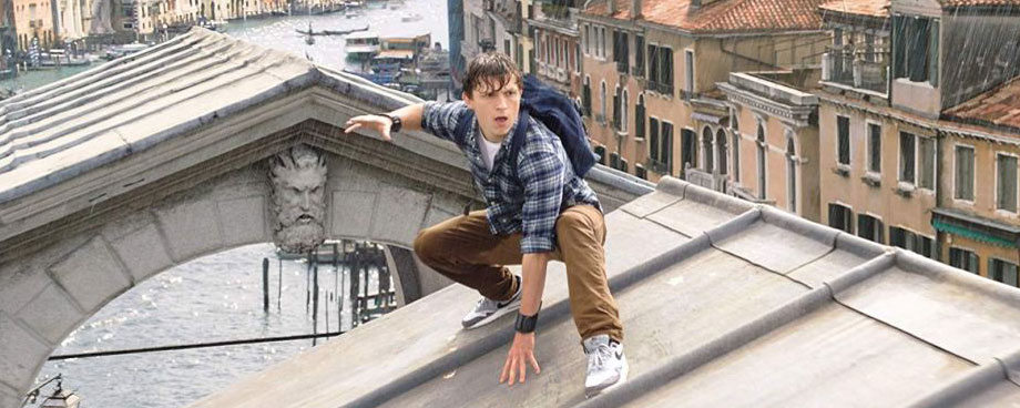 Spider-Man: Far From Home: Tom Holland in Venedig