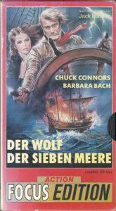 Cover Front Video Der Wolf der sieben Meere Barbara Bach